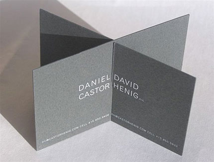 confusing business card